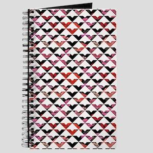 Modern Chic Bold Triangles Journal