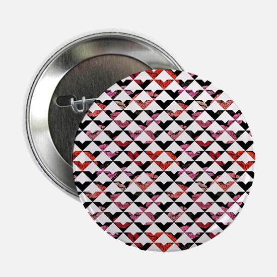 """Modern Chic Bold Triangles 2.25"""" Button (10 pack)"""