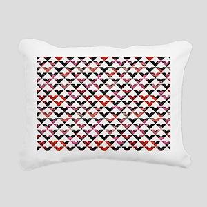 Modern Chic Bold Triangl Rectangular Canvas Pillow