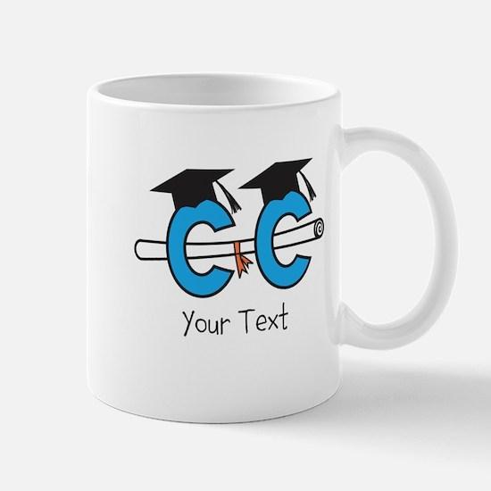 Customize Cross Country Grad (center) Mugs