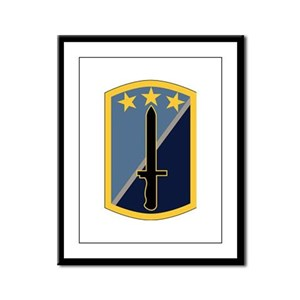 170th Infantry Brigade Framed Panel Print