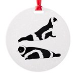 Ribbon Seal Ornament