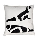 Ribbon Seal Everyday Pillow