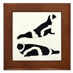 Ribbon Seal Framed Tile