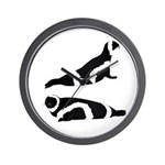 Ribbon Seal Wall Clock