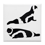 Ribbon Seal Tile Coaster