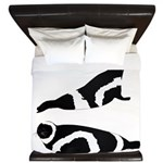 Ribbon Seal King Duvet