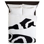 Ribbon Seal Queen Duvet
