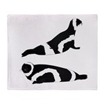 Ribbon Seal Throw Blanket