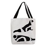 Ribbon Seal Polyester Tote Bag