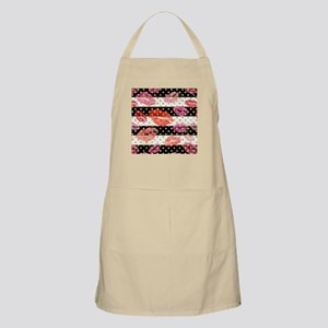 Horizontal Stripes & Watercolor Li Light Apron