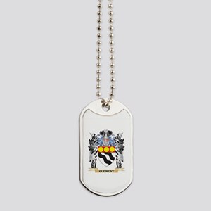Clement Coat of Arms - Family Crest Dog Tags