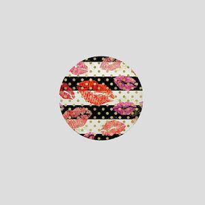 Horizontal Stripes & Wat Mini Button (10 pack)