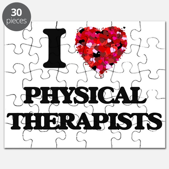 I love Physical Therapists Puzzle