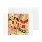 Flat New Mexico Greeting Cards (Pk of 10)
