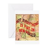 Flat New Mexico Greeting Card
