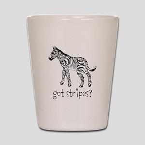 Got Stripes Shot Glass