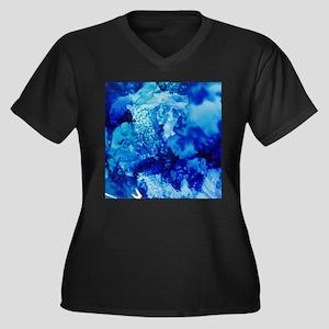 Oceans Blue Plus Size T-Shirt