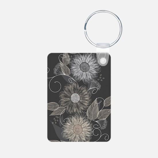 Elegant Floral Keychains