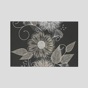 Elegant Floral Magnets