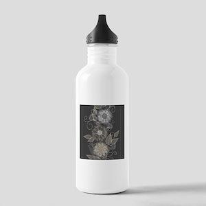 Elegant Floral Water Bottle