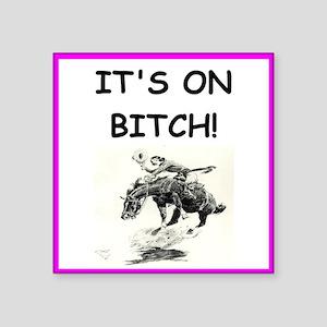 rodeo joke Sticker