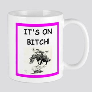 rodeo joke Mugs