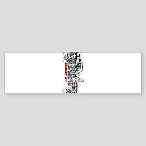 wats up corsica Bumper Sticker