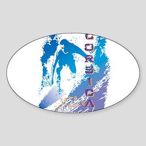 wavebalance Oval Sticker
