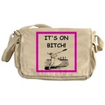 tennis joke Messenger Bag