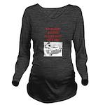 tennis joke Long Sleeve Maternity T-Shirt