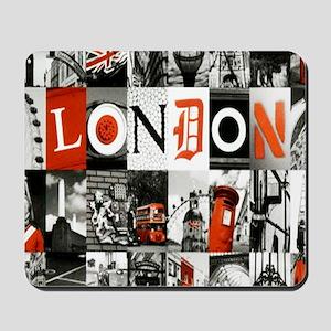 I Luv London Mousepad