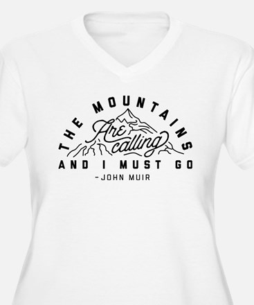 The Mountains Are T-Shirt