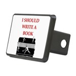 tennis joke Hitch Cover