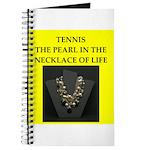 tennis joke Journal