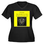 tennis joke Plus Size T-Shirt