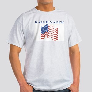 Ralph Nader (american flag) Light T-Shirt