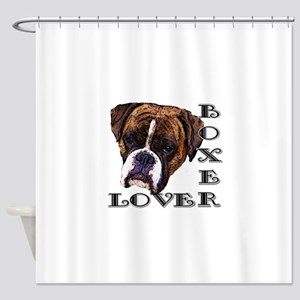 Boxer Lover Shower Curtain