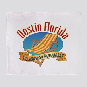 Destin Florida - Throw Blanket