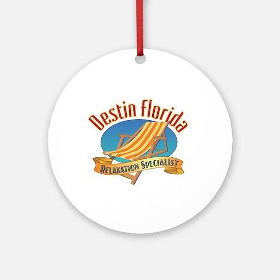 Destin Florida - Ornament (Round)