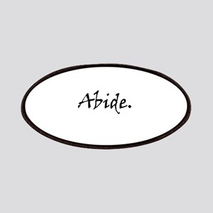 Abide. Patch
