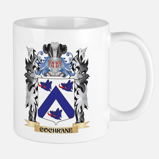 Cochrane Coat of Arms - Family Crest Mugs