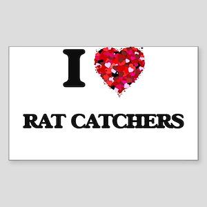 I love Rat Catchers Sticker