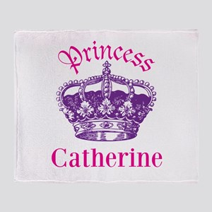 Princess (p) Throw Blanket