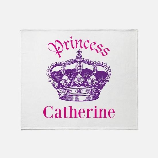 Princess (p) Throw Blanket