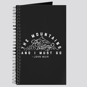 The Mountains Are Calling And I Must Go Journal