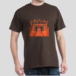 Orange Stadium Dark T-Shirt