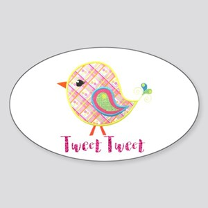 Cute Baby Bird Tweet Tweet Sticker