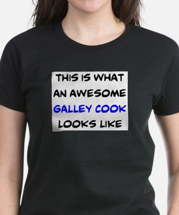 awesome galley cook Women's Dark T-Shirt