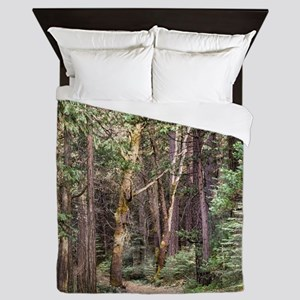 Trail through the Woods Queen Duvet